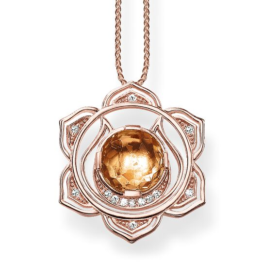 necklace splenic chakra from the Chakras collection in the THOMAS SABO online store