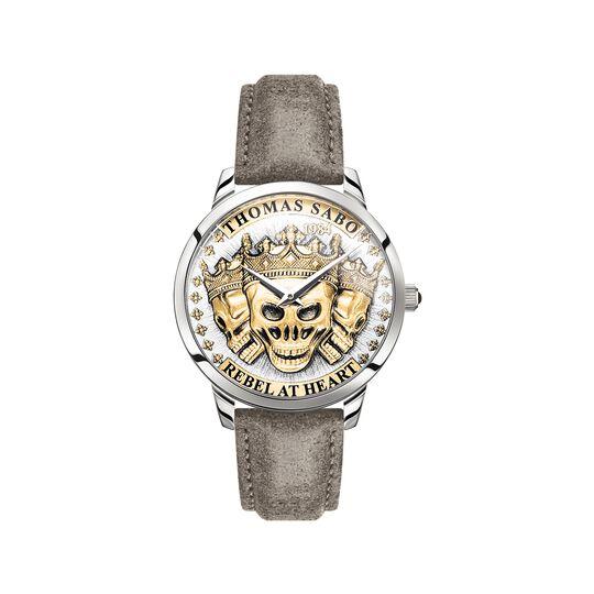 montre pour homme Rebel Spirit têtes de mort 3D or de la collection  dans la boutique en ligne de THOMAS SABO