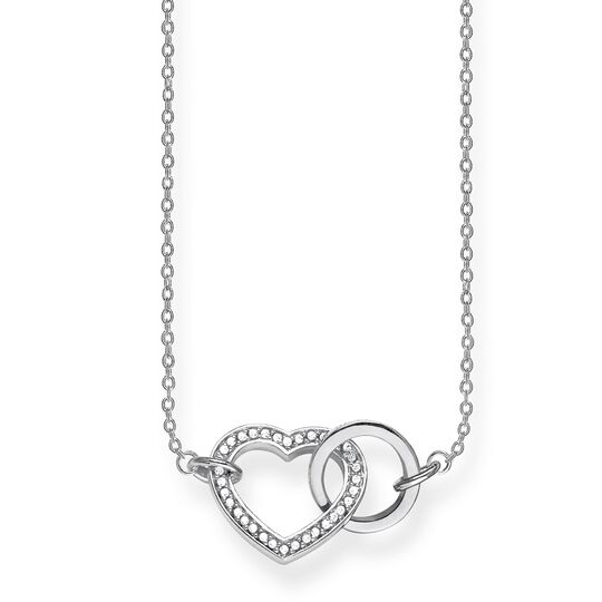 "necklace ""TOGETHER Heart Medium"" from the Glam & Soul collection in the THOMAS SABO online store"