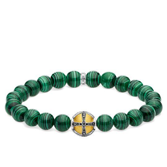 pulsera Cruz verde de la colección Glam & Soul en la tienda online de THOMAS SABO