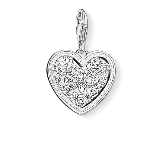 Charm pendant infinity roses heart 1315 thomas sabo usa charm pendant quotinfinity roses heartquot from the collection in the thomas sabo online aloadofball Choice Image