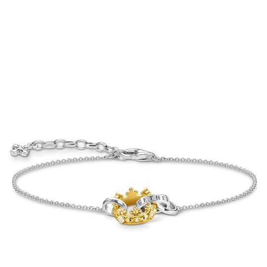 Bracelet crown gold from the Glam & Soul collection in the THOMAS SABO online store