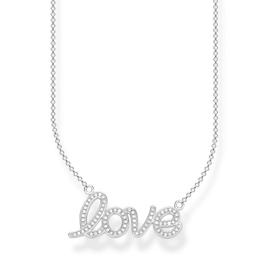 "necklace ""love"" from the Glam & Soul collection in the THOMAS SABO online store"