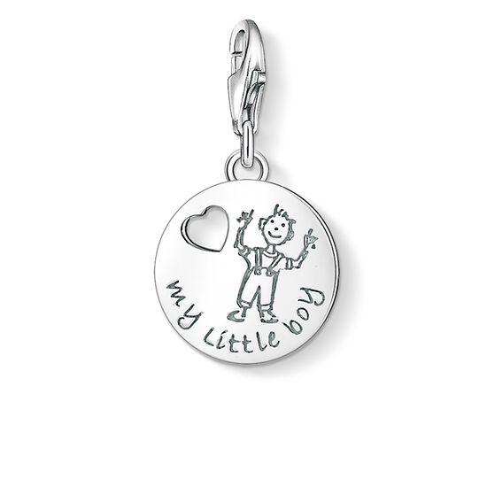 "Charm pendant ""MY LITTLE BOY"" from the  collection in the THOMAS SABO online store"