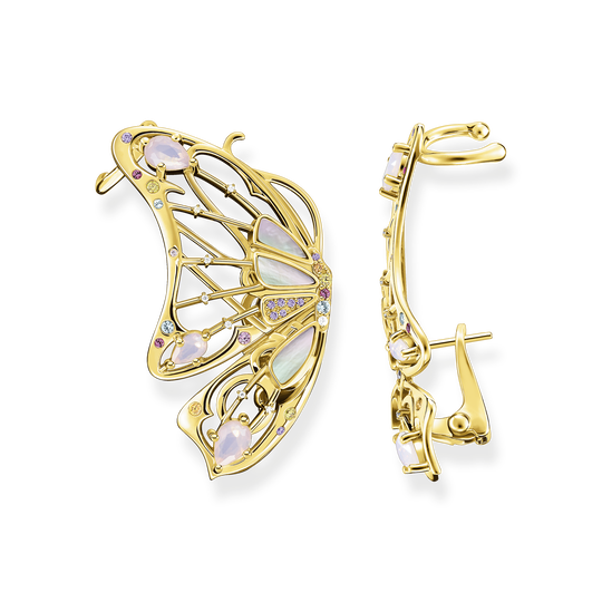 Clip d'oreille papillon or de la collection Glam & Soul dans la boutique en ligne de THOMAS SABO