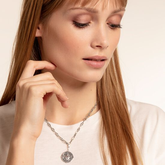 """Charm pendant """"Heart with flames"""" from the  collection in the THOMAS SABO online store"""