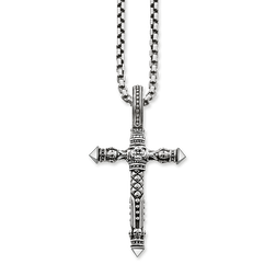 "necklace ""cross"" from the Rebel at heart collection in the THOMAS SABO online store"