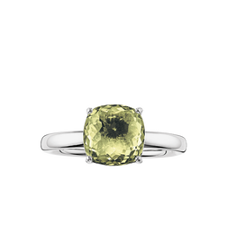 "anello solitario ""verde"" from the Glam & Soul collection in the THOMAS SABO online store"
