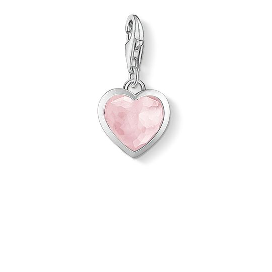 """Charm pendant """"pink heart"""" from the  collection in the THOMAS SABO online store"""