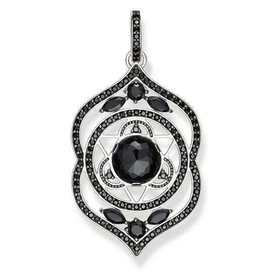 "pendant ""black third-eye chakra"" from the Chakras collection in the THOMAS SABO online store"