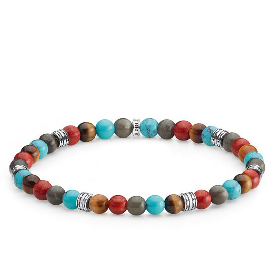 bracelet Lucky charm, colourful from the Glam & Soul collection in the THOMAS SABO online store