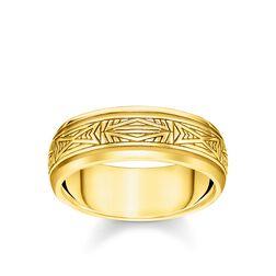 Ring Ornamente gold aus der Rebel at heart Kollektion im Online Shop von THOMAS SABO