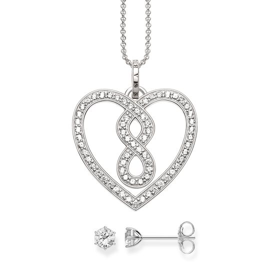 necklace & ear studs from the Glam & Soul collection in the THOMAS SABO online store