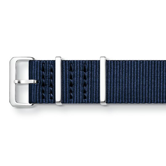 Watch strap CODE TS Nato dark blue from the  collection in the THOMAS SABO online store