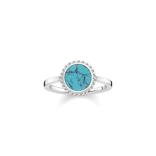ring turquoise stone from the  collection in the THOMAS SABO online store