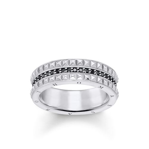 "ring ""black Studs"" from the Glam & Soul collection in the THOMAS SABO online store"