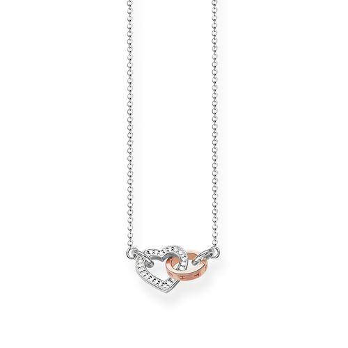 "necklace ""TOGETHER Heart"" from the Glam & Soul collection in the THOMAS SABO online store"
