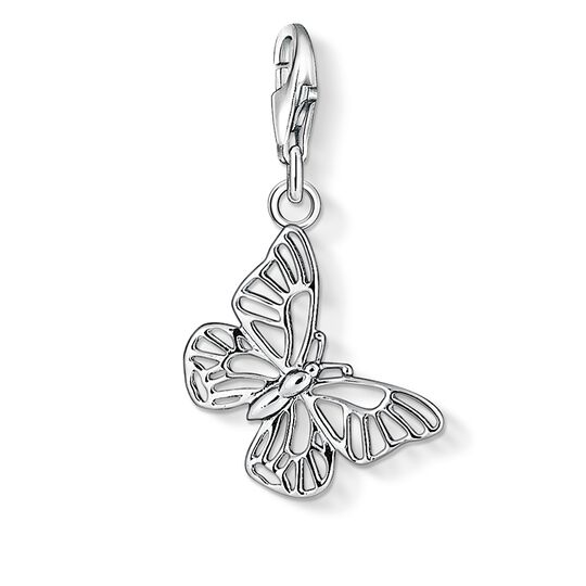 Charm pendant butterfly from the Charm Club collection in the THOMAS SABO online store