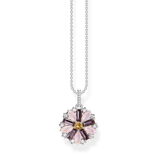 Necklace flower silver from the  collection in the THOMAS SABO online store