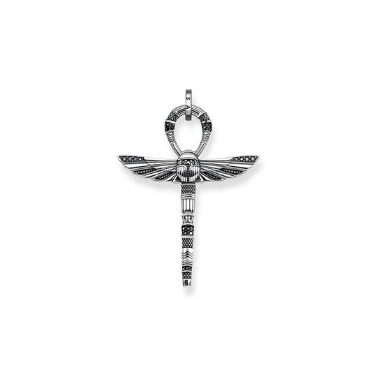 pendant cross of life ankh with scarab from the  collection in the THOMAS SABO online store