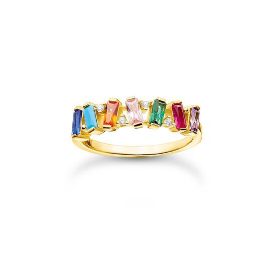 Ring stenar i färg guld ur kollektionen Charming Collection i THOMAS SABO:s onlineshop