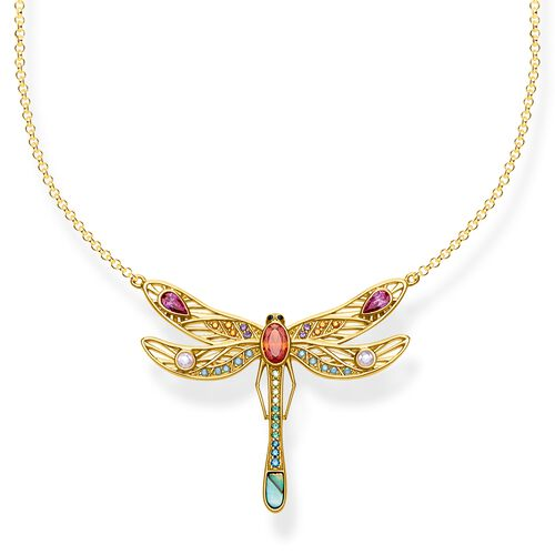 """necklace """"dragonfly large"""" from the Glam & Soul collection in the THOMAS SABO online store"""