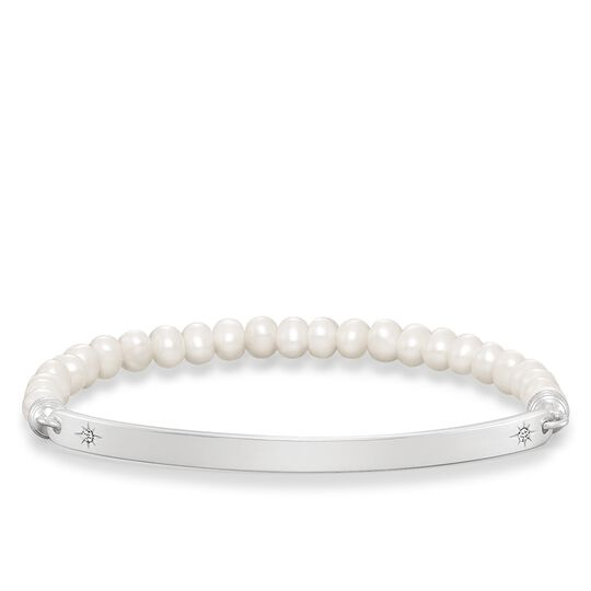 pearl bracelet star from the Love Bridge collection in the THOMAS SABO online store