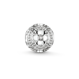 Bead diamond flower from the Karma Beads collection in the THOMAS SABO online store