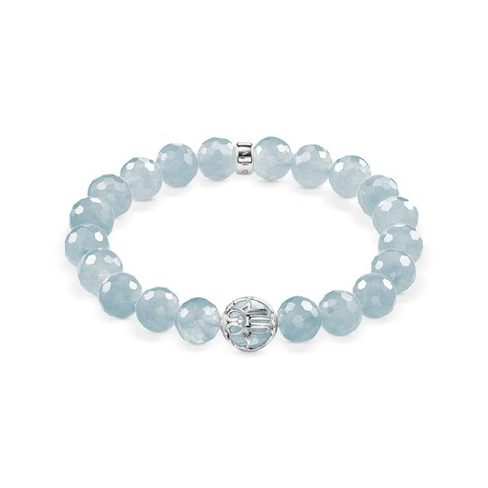 bracelet light blue lotos blossom from the  collection in the THOMAS SABO online store