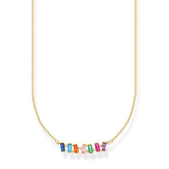 Halsband stenar i färg guld ur kollektionen Charming Collection i THOMAS SABO:s onlineshop