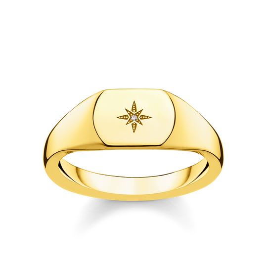 ring vintage star gold from the Glam & Soul collection in the THOMAS SABO online store
