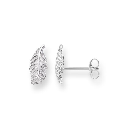 "ear studs ""feather"" from the Glam & Soul collection in the THOMAS SABO online store"