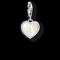 """pendentif Charm """"cœur de nacre"""" de la collection  dans la boutique en ligne de THOMAS SABO"""