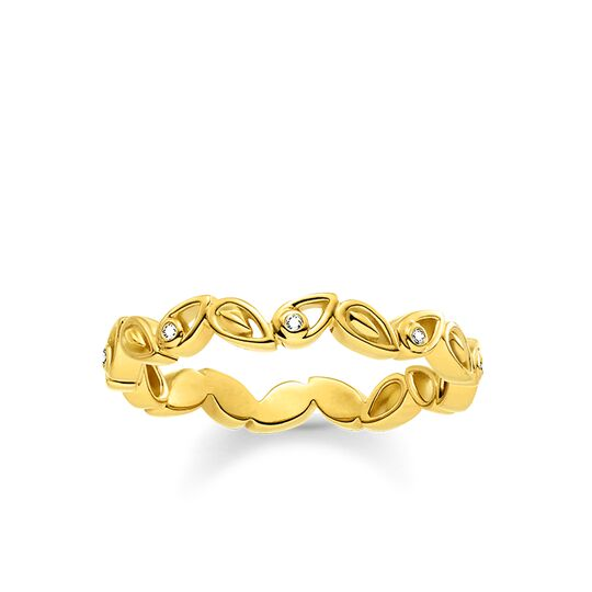 ring leafs from the  collection in the THOMAS SABO online store