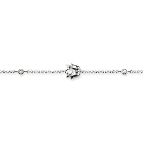 """bracelet """"fleur de lotus"""" de la collection Glam & Soul dans la boutique en ligne de THOMAS SABO"""