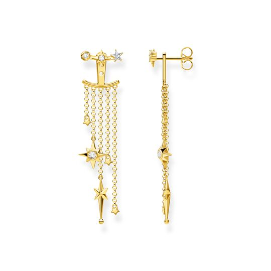 Earrings stars gold from the  collection in the THOMAS SABO online store