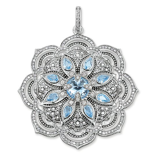 pendant blue Lotos blossom from the Glam & Soul collection in the THOMAS SABO online store