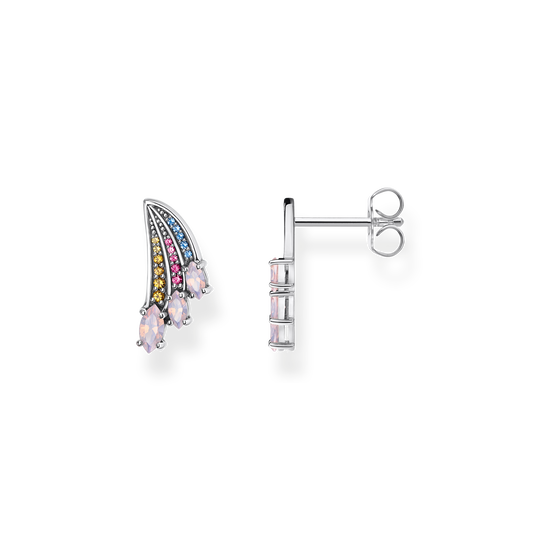 ear studs bright silver-coloured hummingbird wing from the Glam & Soul collection in the THOMAS SABO online store