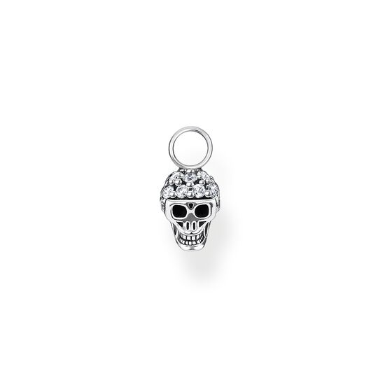 Single ear pendant skull from the Charming Collection collection in the THOMAS SABO online store