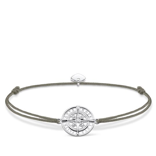 Bracelet Little Secret Compass, Faith, Love, Hope from the Glam & Soul collection in the THOMAS SABO online store