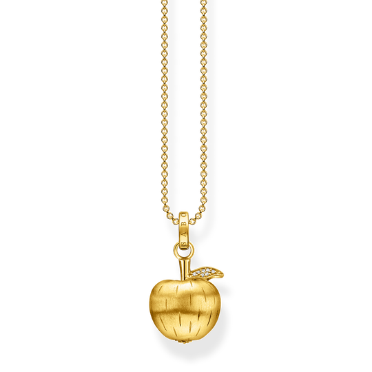 Necklace apple gold from the Glam & Soul collection in the THOMAS SABO online store