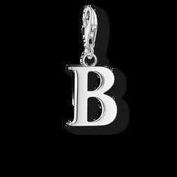 """pendentif Charm """"lettre B"""" de la collection  dans la boutique en ligne de THOMAS SABO"""