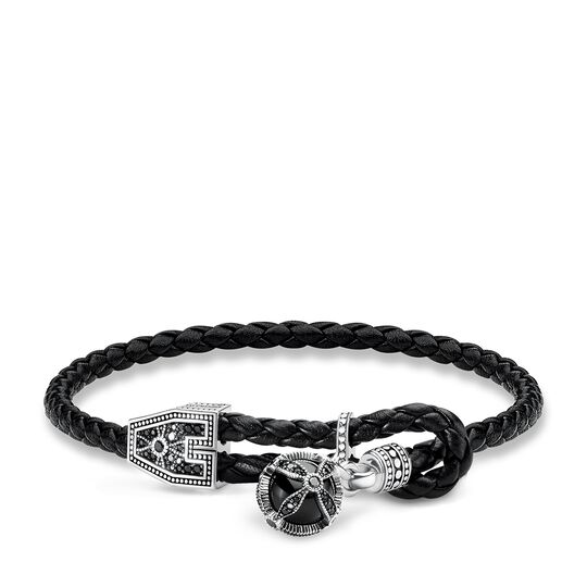 leather strap royalty cross from the Rebel at heart collection in the THOMAS SABO online store