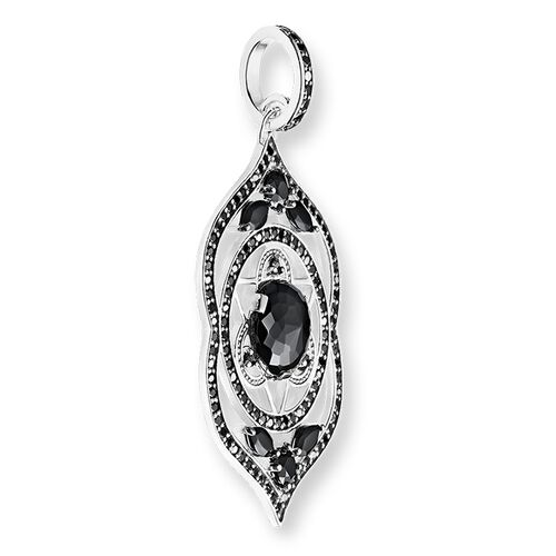"""pendentif """"Chakra du front noir"""" de la collection Chakras dans la boutique en ligne de THOMAS SABO"""
