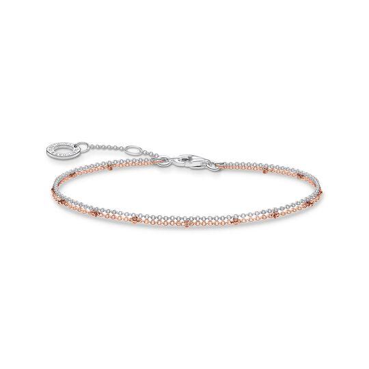 bracelet double or rose de la collection Charming Collection dans la boutique en ligne de THOMAS SABO