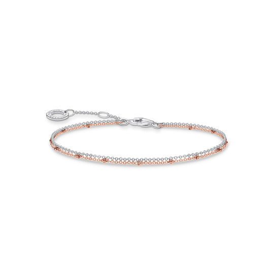 bracelet double or rose de la collection Charming Collection dans la boutique en ligne de THOMAS SABO