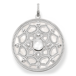 """pendant """"white lotus"""" from the Glam & Soul collection in the THOMAS SABO online store"""