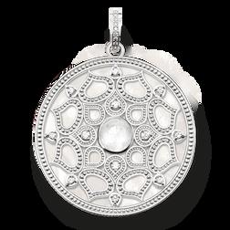 """pendentif """"lotus blanc"""" de la collection Glam & Soul dans la boutique en ligne de THOMAS SABO"""