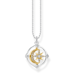 necklace Moveable moon & star from the Glam & Soul collection in the THOMAS SABO online store