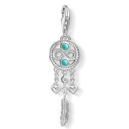 Charm pendant dreamcatcher infinity from the  collection in the THOMAS SABO online store